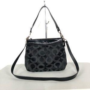 Coach Ashley Dotted Hippie bag purse